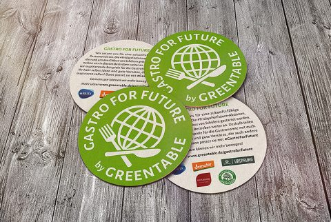Greentable - GastroforFuture - Bierdeckel