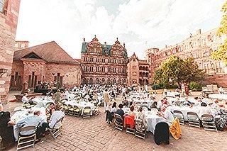 5. Heidelberger Sommerzauber - Schlosshof