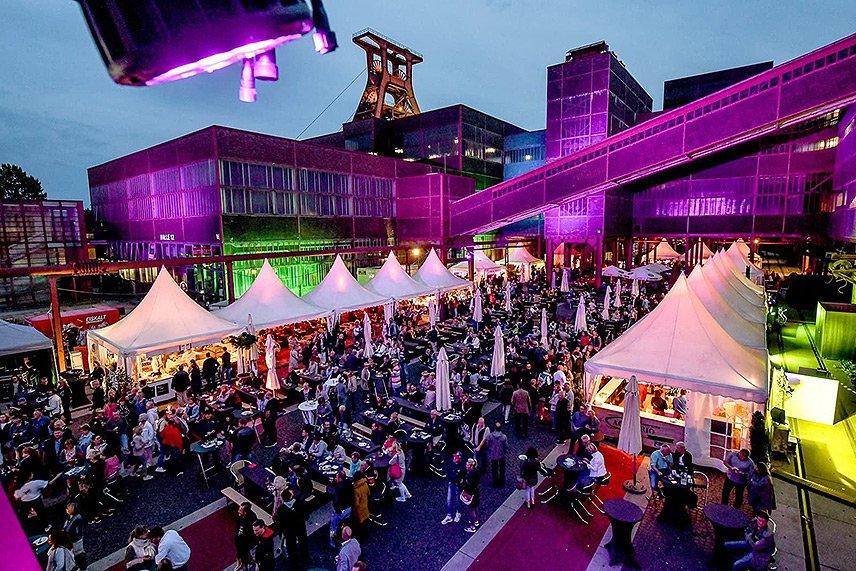 Gourmetmeile Metropole Ruhr 2019 - Zollverein Essen
