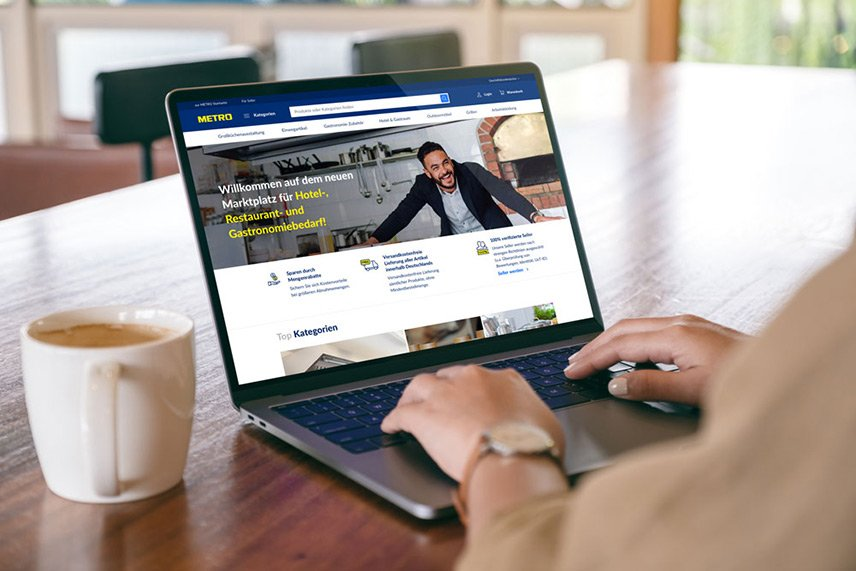 METRO - Online-Marktplatz für HoReCa-Kunden