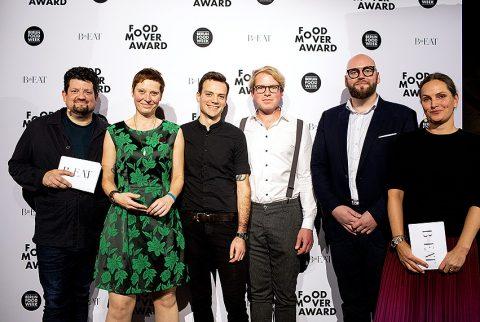 Food Mover Award 2019 - Gewinner und Moderatoren