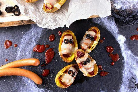 Halloween Kartoffel-Mumien - Bildnachweis Kartoffel-Marketing GmbH