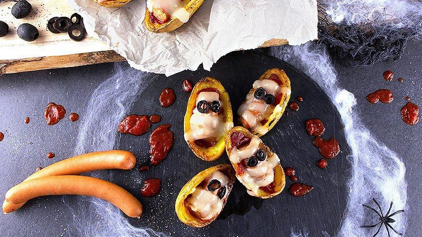 Halloween Kartoffel-Mumien - Bildnachweis Kartoffel-Marketing-GmbH