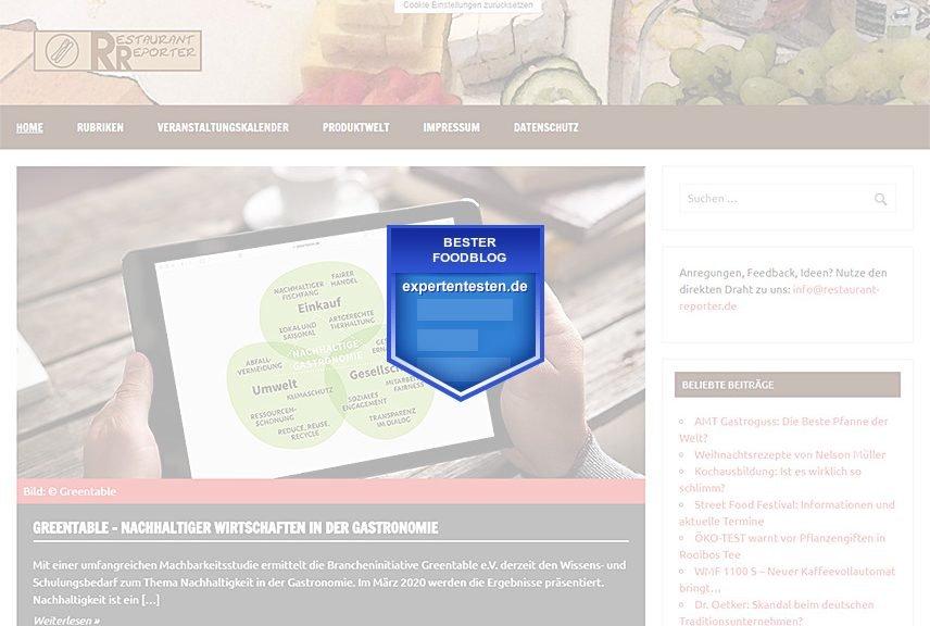 ExpertenTesten - Bester Foodblog