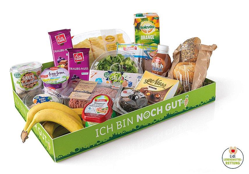 Lidl - Ich bin noch gut-Box - Lebensmittelrettung
