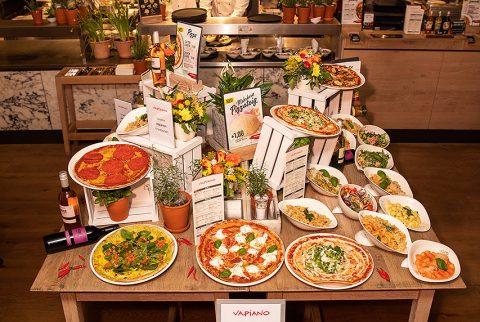 VAPIANO präsentiert neue Speisekarte