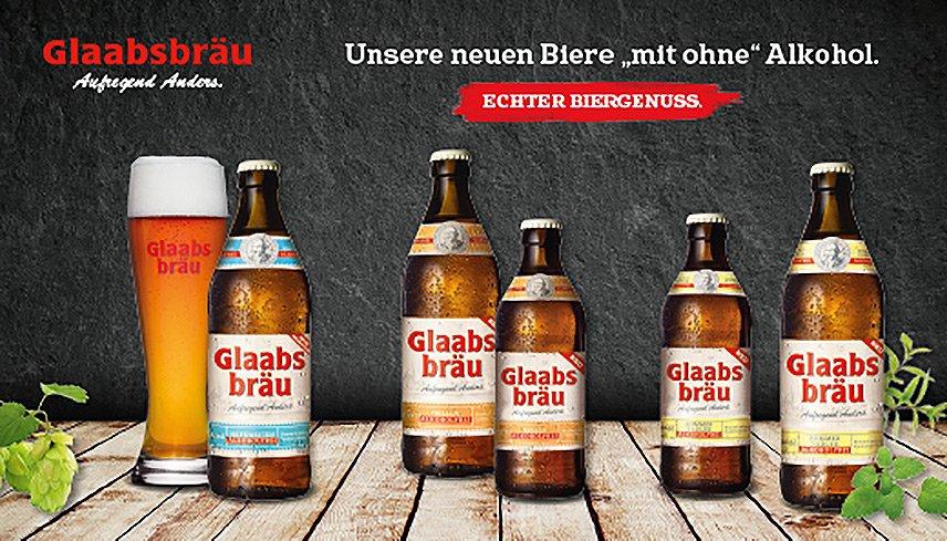 Glaabsbräu - Helles Alkoholfrei
