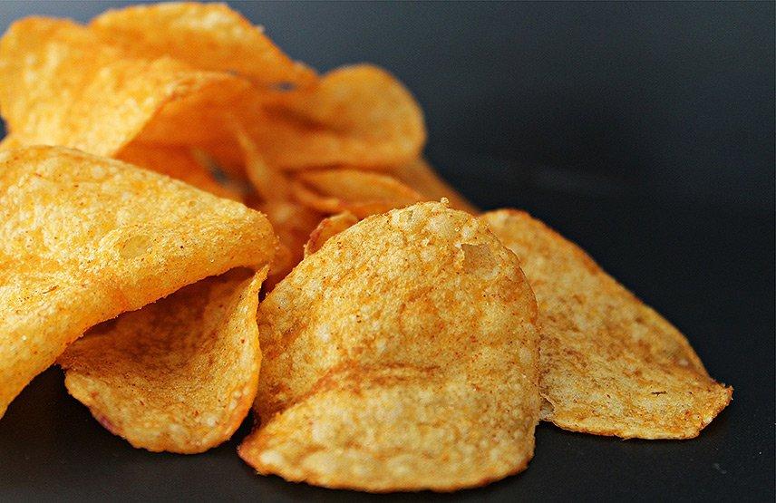 Kartoffelchips - Weisser Pixabay
