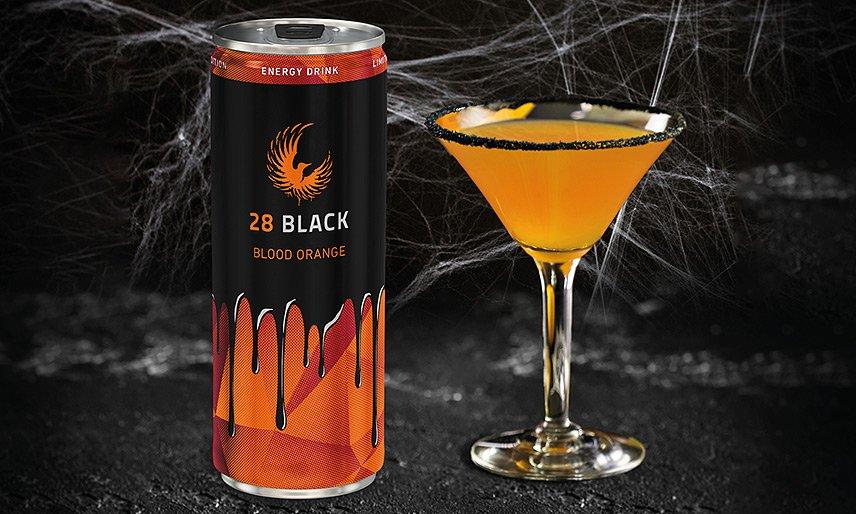 28 BLACK feiert Halloween mit der Blutorange-Edition