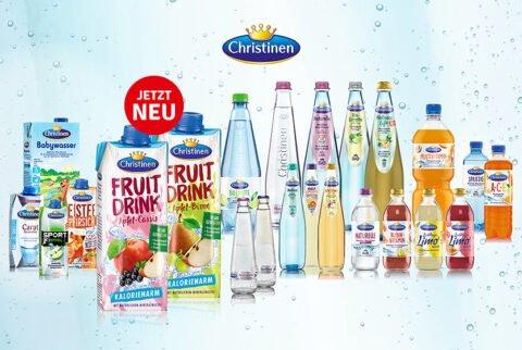 Christinen - Fruit-Drinks und Relaunch