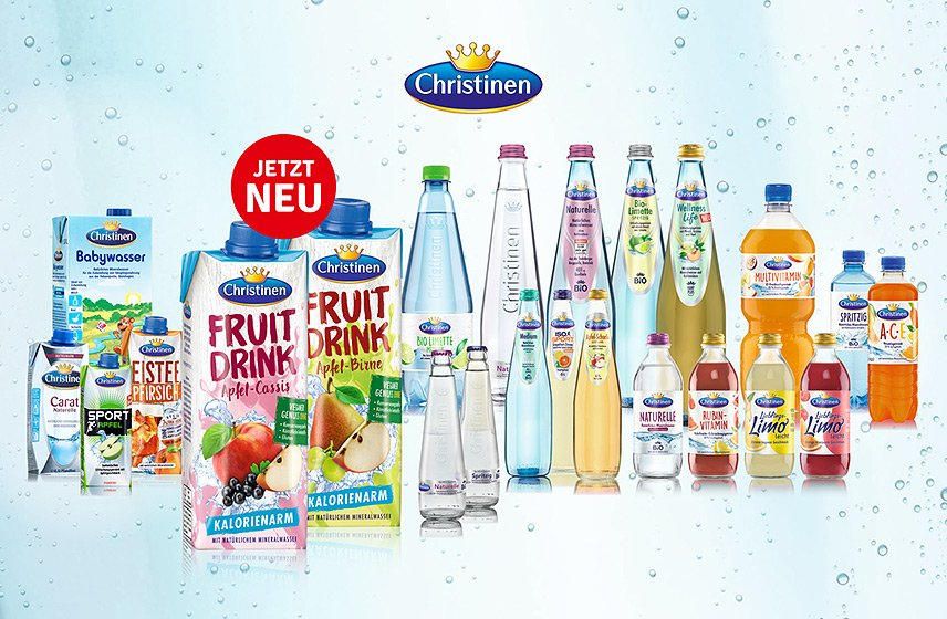 Christinen - Fruit Drinks und Relaunch