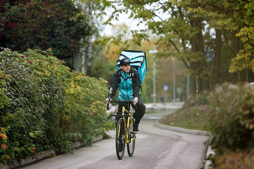 Wolt - Fahrradkurier - Food Delivery Service