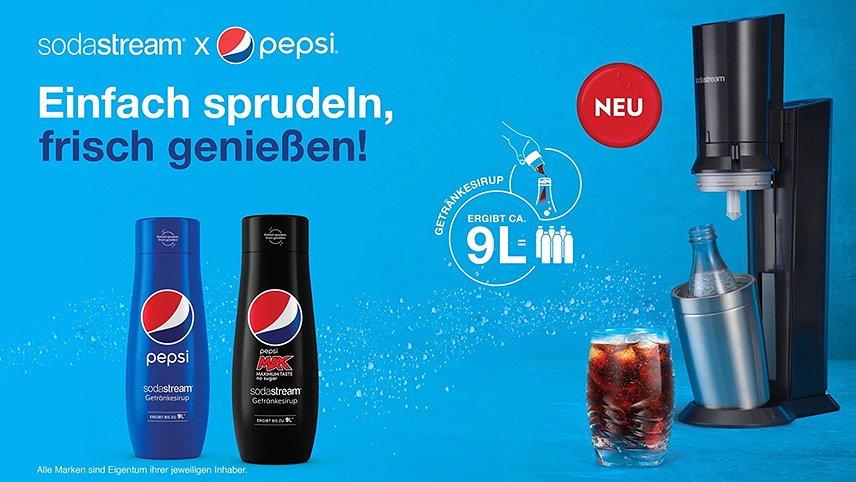 SodaStream - PepsiCo-Sirup - TV-Spot