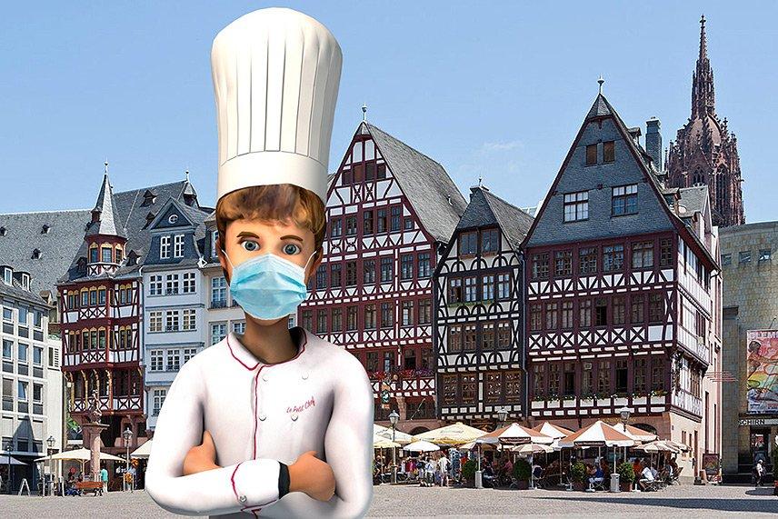Le Petit Chef zaubert im Steigenberger Frankfurter Hof