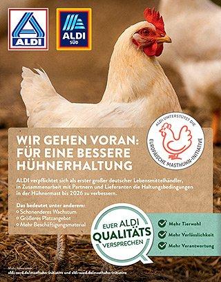 ALDI - Masthuhn-Initiative - Anzeige