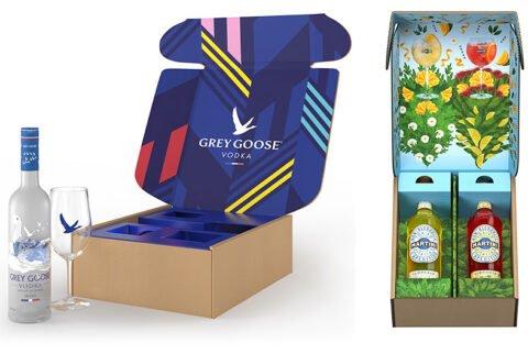 Bacardi - Amazon Geschenkpakete - Grey Goose - Martini