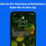 "Choco - Neue ""Broadcast""-Funktion"
