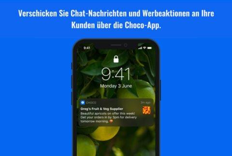 "Choco - Neue ""Broadcast""-Funktion"
