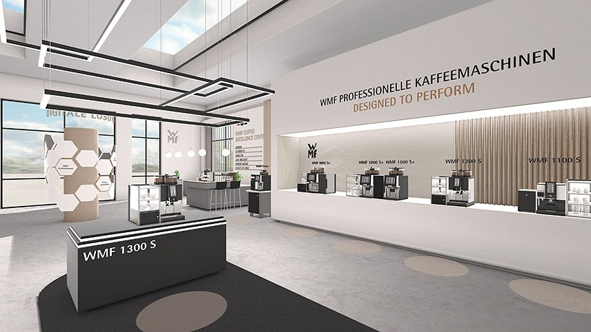 Neuer virtueller Showroom von WMF Professional Coffee Machines
