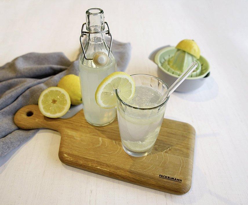 Fackelmann - Umweltfreundliche Glas Trinkhalme #54845