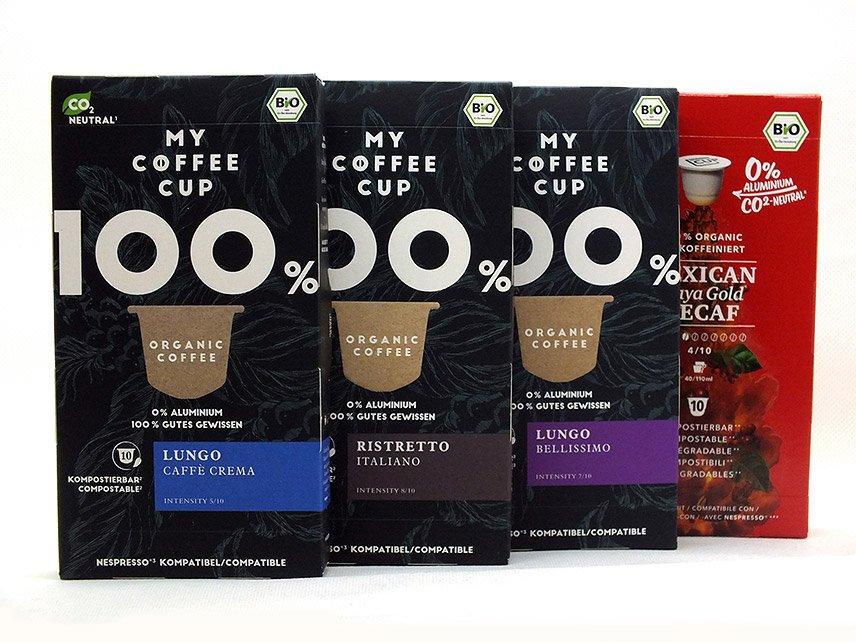 My Coffee Cup - Nachhaltige Vielfalt für das Nespresso-System