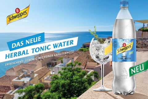 Schweppes Herbal Tonic Water