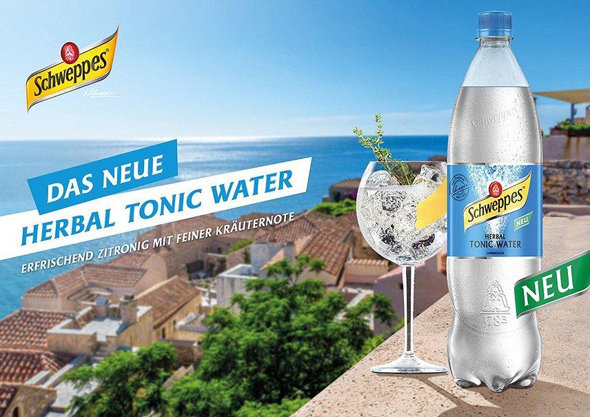 Schweppes - Herbal Tonic Water