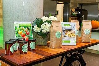 Boehringer Ingelheim - selbstproduzierte Lebensmittel mit regionalen Produkten