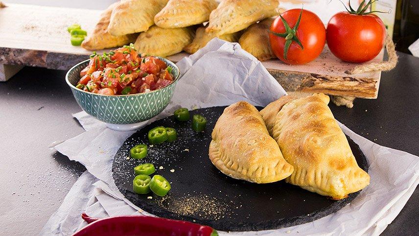 Kartoffel-Marketing GmbH - Spanische Empanadas mit Kartoffelfüllung