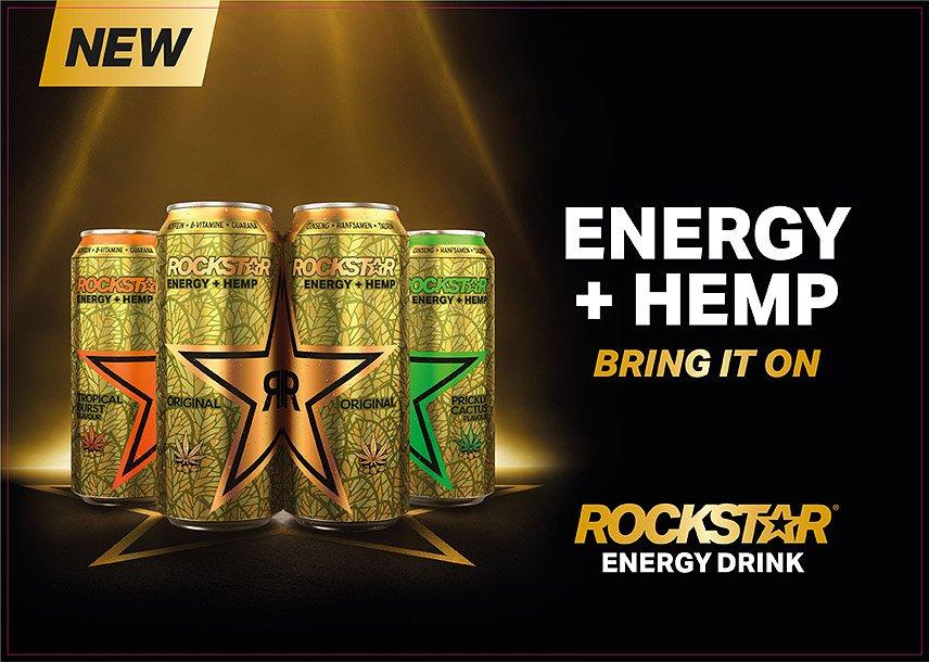 Rockstar Energy + HEMP