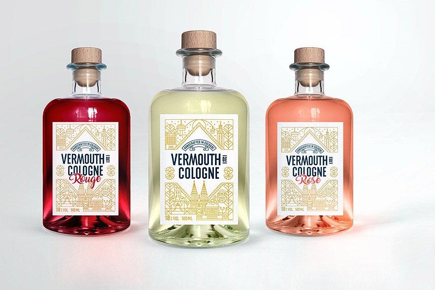 Gin de Cologne - Vermouth - Alle 3 Sorten
