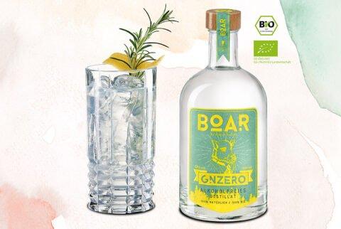 BOAR GNZERO - TONIC - alkoholfrei