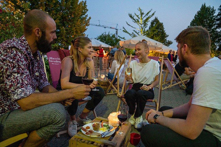 Weindorf Auslese 2021 - Nicht nur die Gäste waren im Vorjahr begeistert