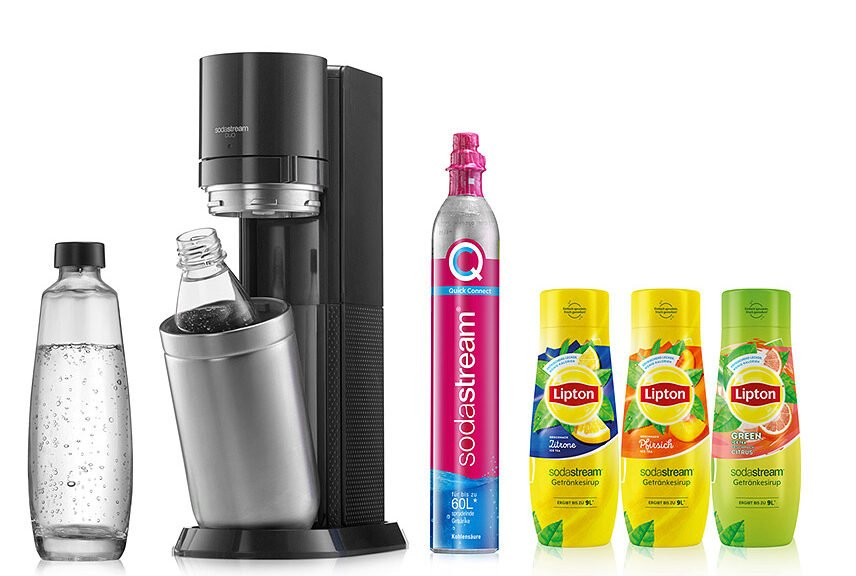 SodaStream - Lipton-Sirup für Eistee