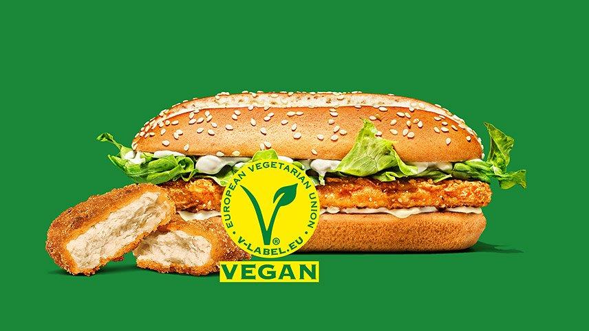 Burger King - V-Label-Lizenzierung von ProVeg