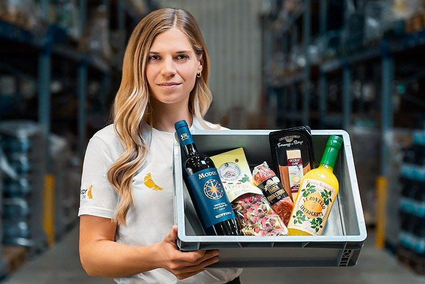 Knuspr - original italienische Produkte